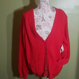 Vintage 1989 NEW WITH TAGS ERIKA collectioCARDIGAN